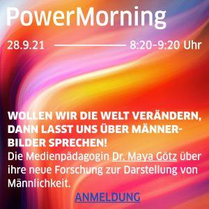 POWER MORNING AM 28.9.21 UM 8:20 UHR